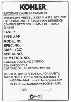kohler engine parts if your kohler engine parts are not listed here ask for it we can get it